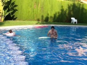 自宅プール